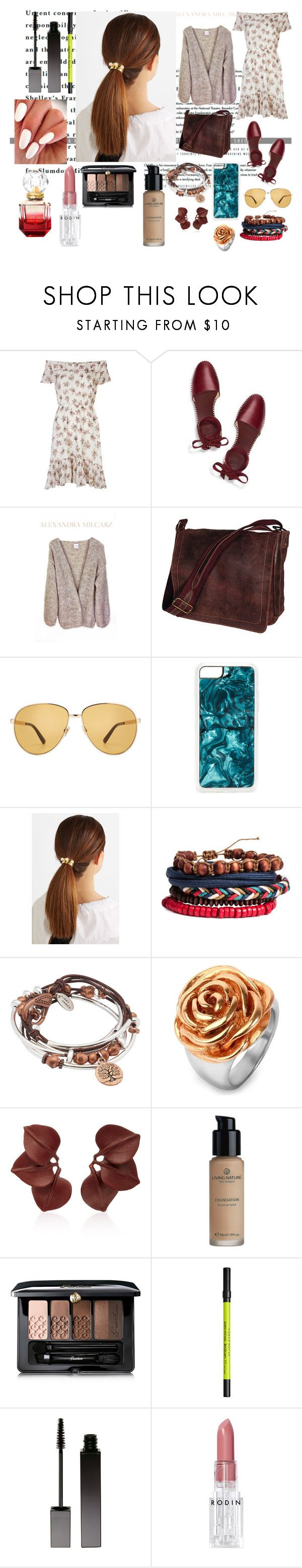"""Argle-bargle."" by it-srabina ❤ liked on Polyvore featuring Denim & Supply by Ralph Lauren, Tory Burch, David King & Co., Gucci, Zero Gravity, Jennifer Behr, Lizzy James, West Coast Jewelry, Guerlain and Urban Decay"