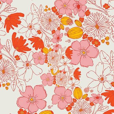 print & pattern: FABRICS - meadow by leah duncan
