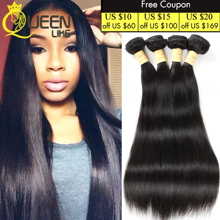 Best 8A Grade Peruvian Virgin Hair Straight 4 Bundles Queen Like Hair Products Unprocessed Peruvian Straight Virgin Hair Weave
