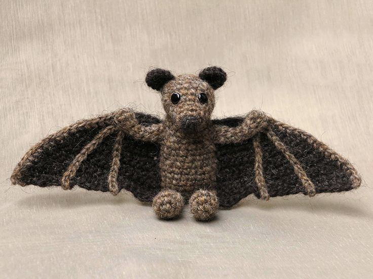 My crochet bat pattern is finished and what a lovely little scoundrel Brutus has become. I've called him Brutus, it sounded fun for a sweet looking bat. Brutus is a very versatile crochet bat. He c...