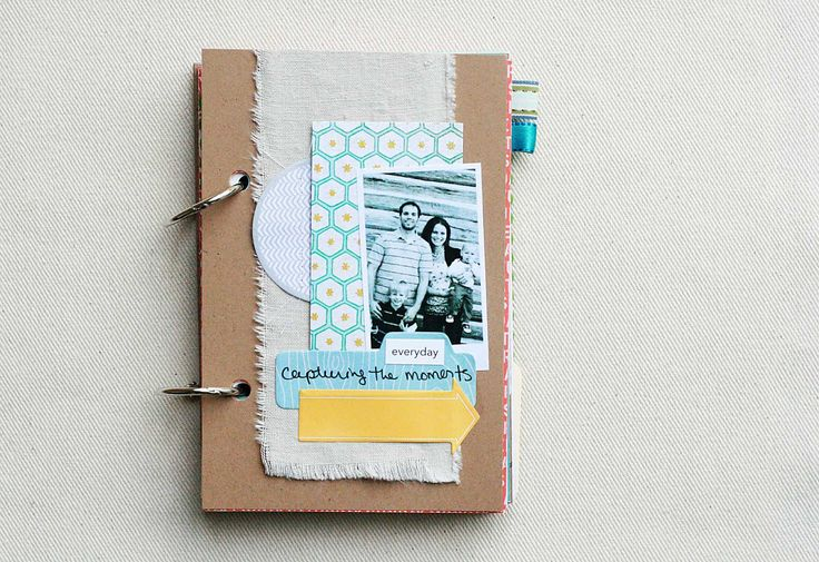 Everyday - Mixed Paper Art Journal | by CreativePlace, an indie journal & scrapbook maker on Etsy~~~~~~~~~~~~~~