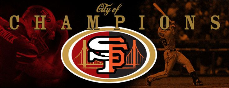 City of Champions....#SF #49ers #Giants | 49ers, Giants ...