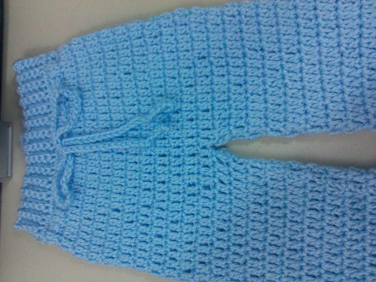 Easy to crochet baby / Infant pants