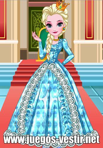 Elsa de #Frozen está decidida a ser una gran #diseñadora de sus propios #vestidos #juegosdevestir   #juegosdediseñar    http://www.juegos-vestir.net/jugar/vestidos-de-elsa