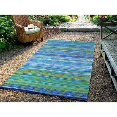 Modern Outdoor Rug Chatai in Aqua by Ground Work Rugs Design. Get it now or find more All Rugs at Temple & Webster.