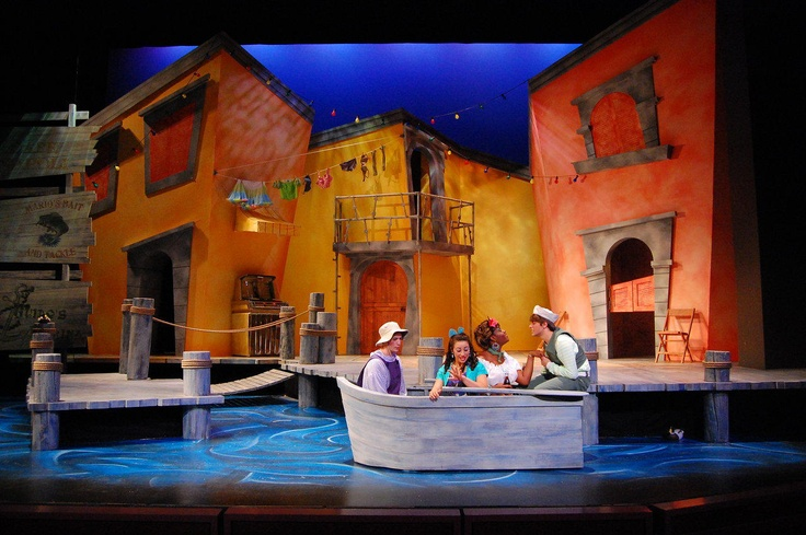 "Scenic Design for ""Scapino"" by Eric Luchen at Purdue University"
