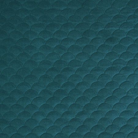 Pindler Fabric Pattern #4059-Scallop, color Nile www.pindler.com (Quilted Collection)