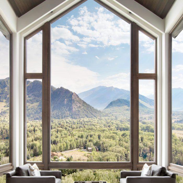 An Aspen Home Showcases Bold Taste Mountain Views Aspen House