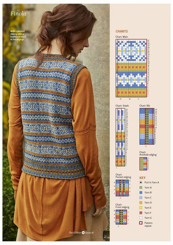 474 best fair isle knits images on Pinterest | Knit patterns ...