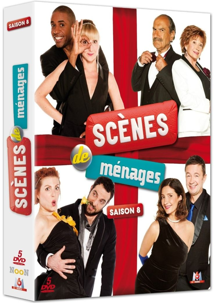 Scenes de ménages saison 8 en dvd