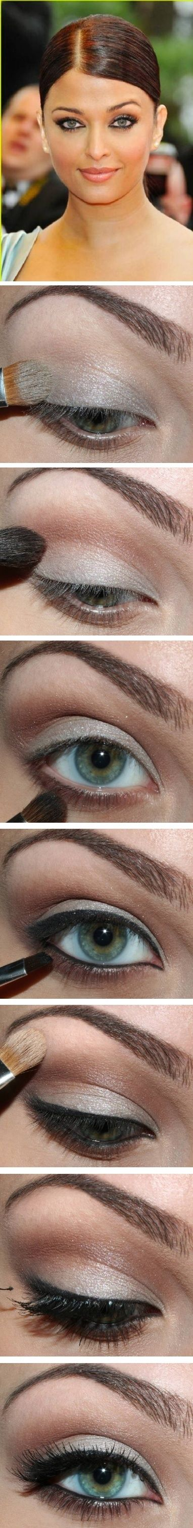 Aishwarya Rai eye makeup #makeup #beauty #cosmetics