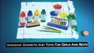 Melissa And Doug Toys: Easel Accessory Set - YouTube