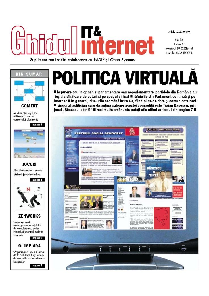Primul numar din Ghidul IT & Internet