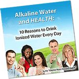 The Benefits of Drinking Ionized Alkaline Water Alkaline Water Benefits - What is Alkaline Ionized Water? Get the Facts About Water Ionizers
