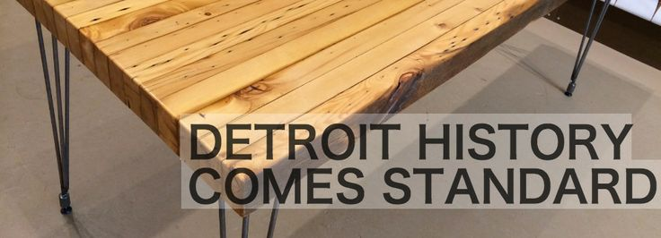 Workshop™ | Modern Furniture Detroit Reclaimed Lumber   Made In The USA |  Made In The USA | Pinterest | Reclaimed Lumber And Modern