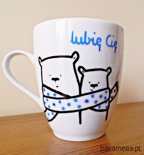 hand painted mug / kubek ręcznie malowany https://www.facebook.com/Cudawianki