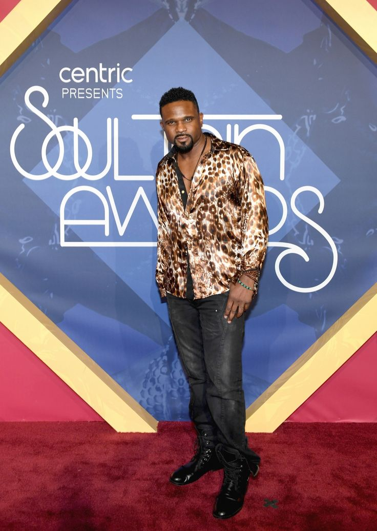 Actor Darius McCrary Is Rocking That Print! Yes!