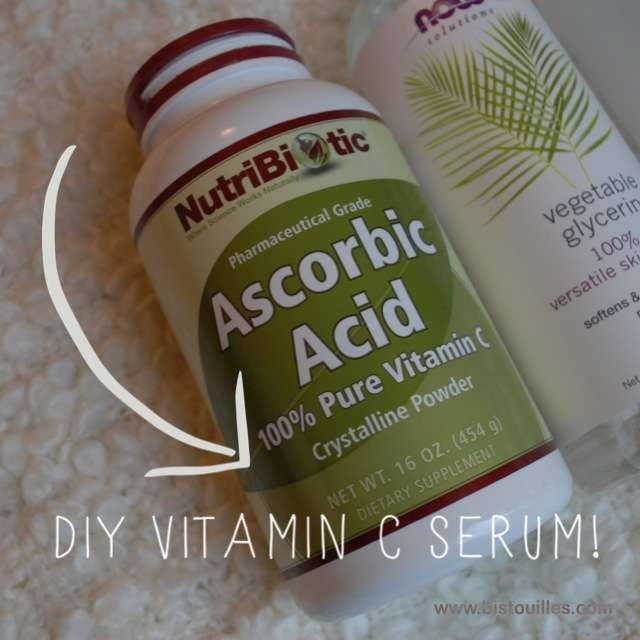 How to Make Your Own Vitamin C Serum, with percentages