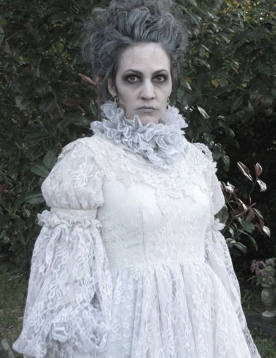 Victorian Ghost by DreamBohemian on Etsy. The coloring of this ghost is amazing!