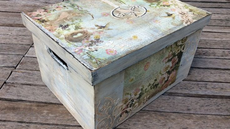 Especial cumple: caja decorada - MYBA