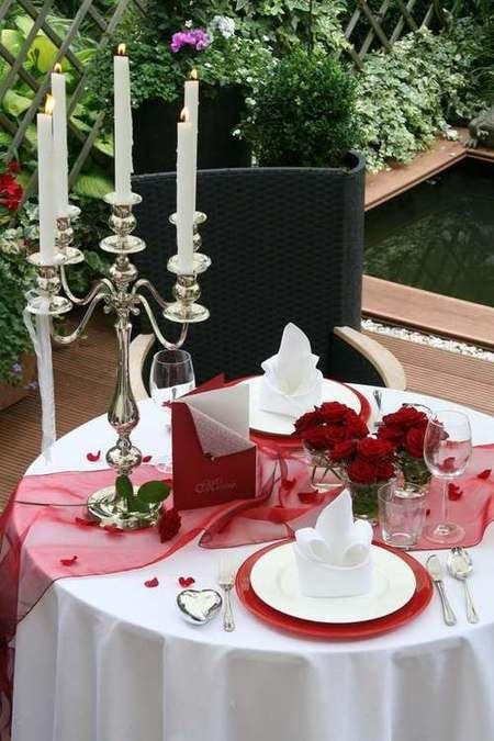tischdekoration candleligth romantik romantische tischdeko heiratsantrag 2 tischdekoration. Black Bedroom Furniture Sets. Home Design Ideas