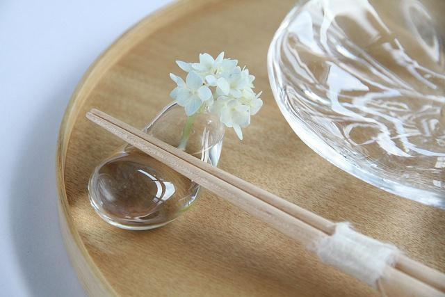 chopstick rest AND a tiny vase