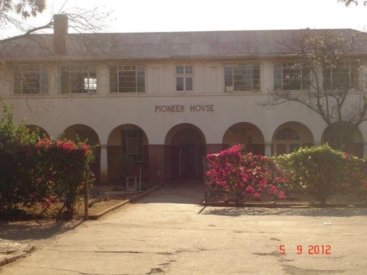 Pioneer House, Boarders hostel, Milton High School, Bulawayo