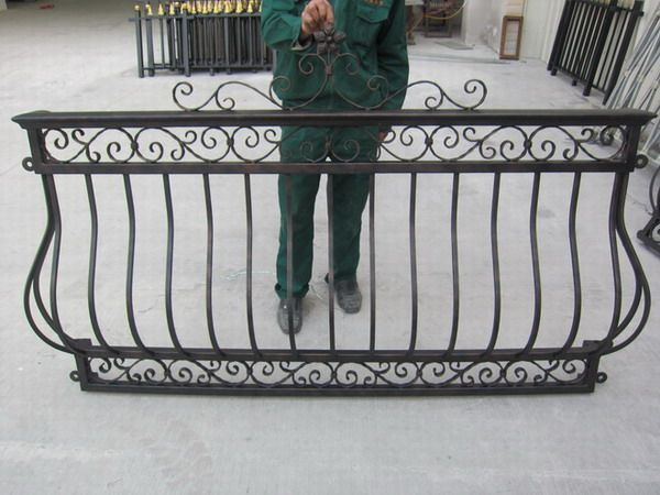 wrought iron balconies | Wrought Iron Balcony Railing - China Balcony Railing,Iron Railing