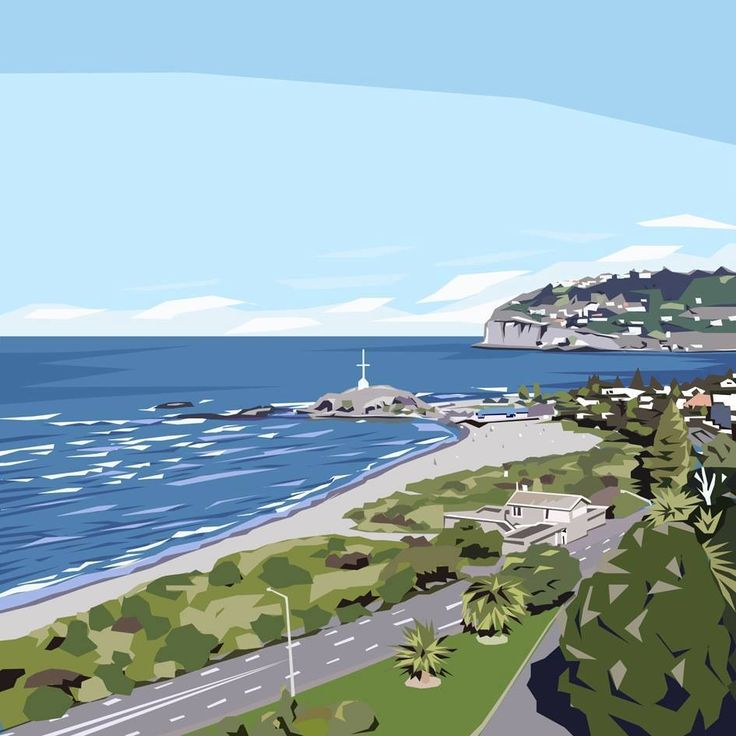 Art by Ira — Sumner Beach painting
