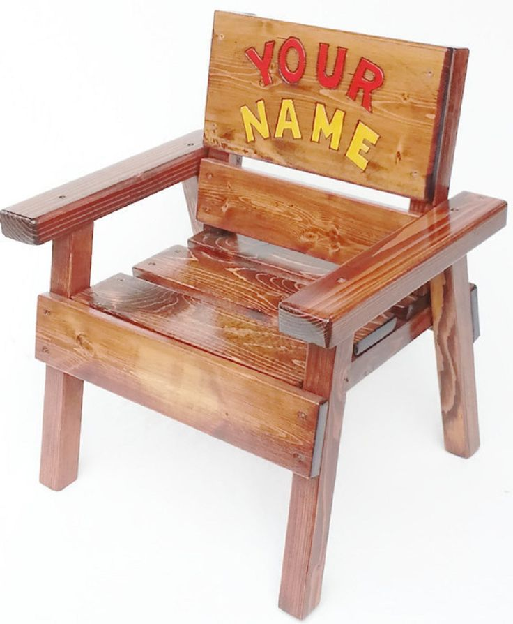 Personalized Children S Wooden Chairs Personalized
