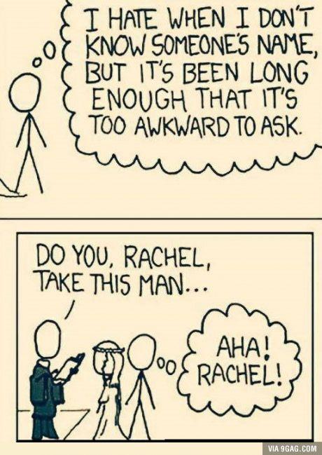 Aha Rachel!