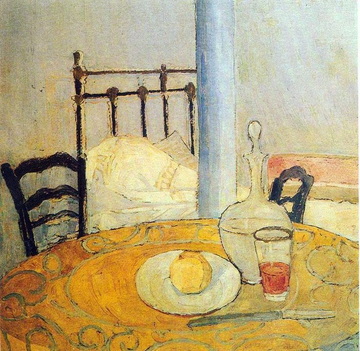 """Σπύρος Παπαλουκάς, 1892–1957, """"Κελί στην Μονή Μεγίστης Λαύρας"""", 1924"""