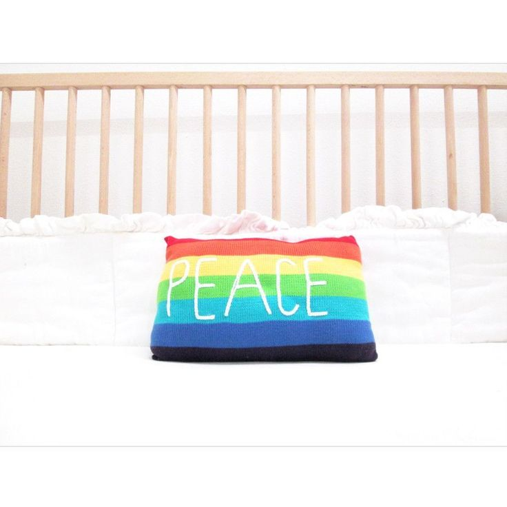Peace Decorative Pillow #NaturalParenting