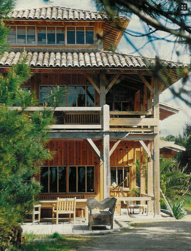 Maison en bois : façon cabane de pêcheurs