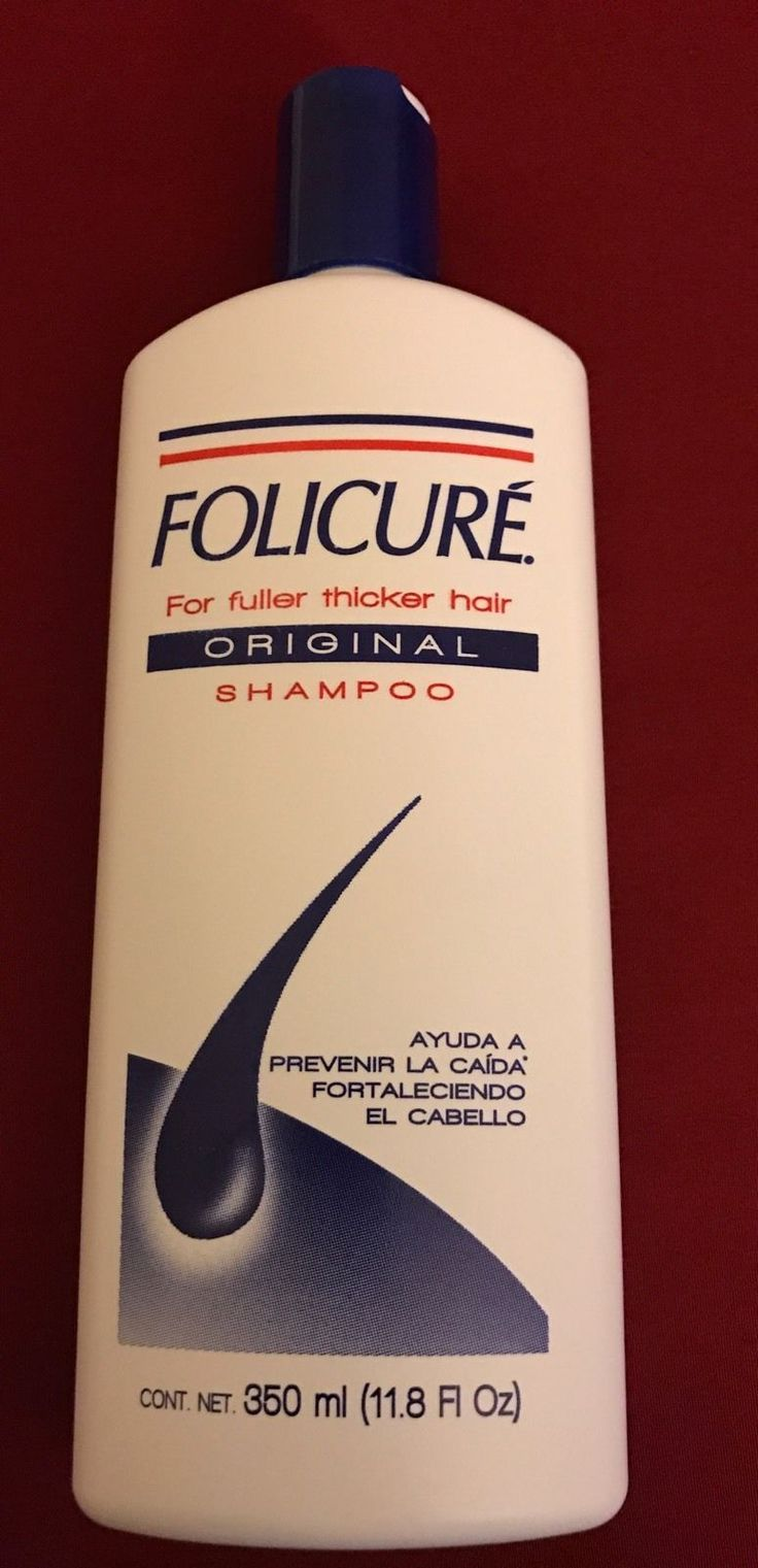 FOLICURE ORIGINAL SHAMPOO FOR FULLER THICKER HAIR 350ml 11.8 fl oz.