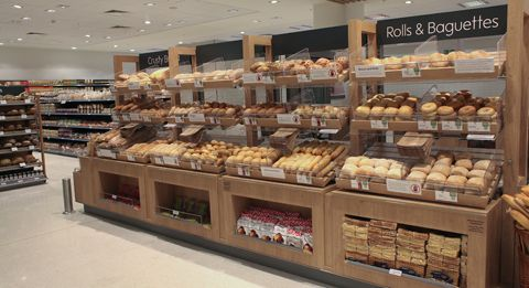 Supermarket Design   Bakery Areas   Retail Design   Shop Interiors   Waitrose_cw_food_1
