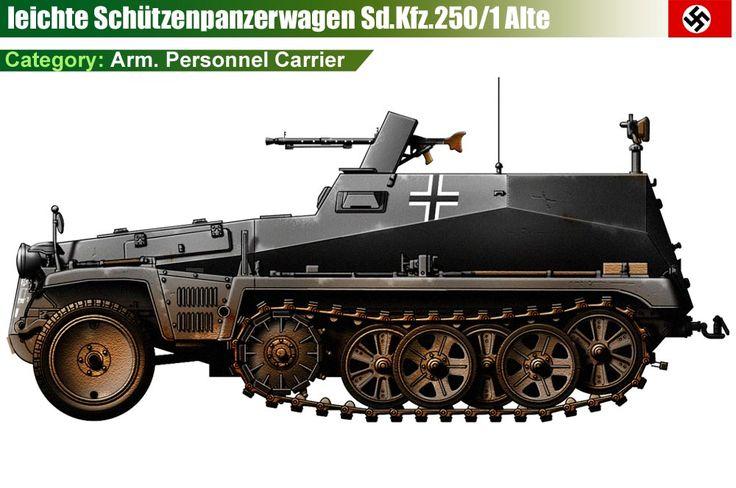 Sd.Kfz.250/1 Alte