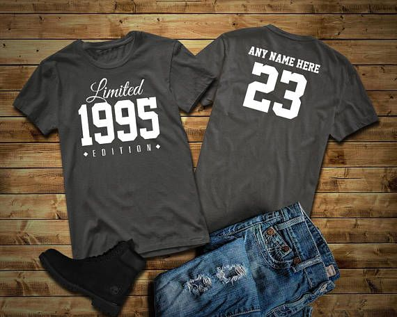 1995 Limited Edition 23rd Birthday Party Shirt, 23 years old shirt, limited edition 23 year old, 23rd birthday party tee shirt Custom #birthday #birthdayshirt #birthdaypresent #outfit #casual #birth #year #jeans #affiliate