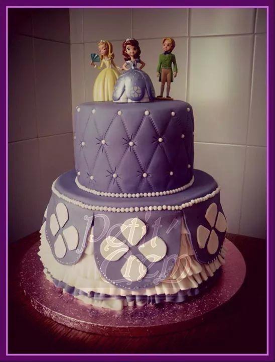 La princesa Sofia. Cake.