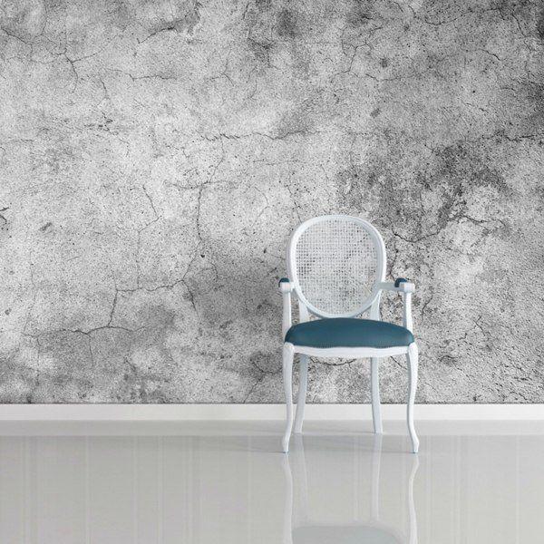 papier peint trompe loeil de design industriel - Papier Peint Industriel Chambre