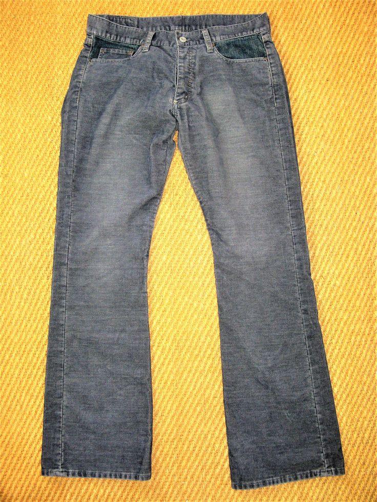 G-Star Raw Denim 5632 S.C. Low Boot Mix Corduroy & Denim Pants