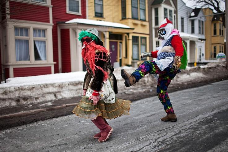 Mummering in Newfoundland