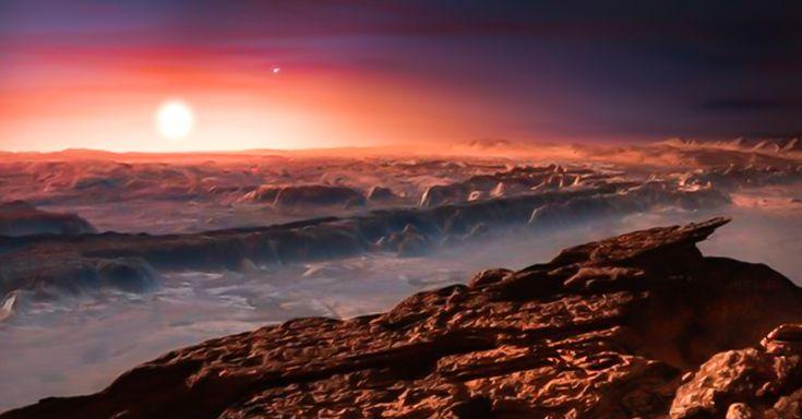 Tras años de investigación, astrónomos encontraron un nuevo planeta en la estrella más cercana al Sol, parecido a la Tierra que podría albergar vida