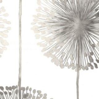 Dandelion Silver: Wallpaper Central