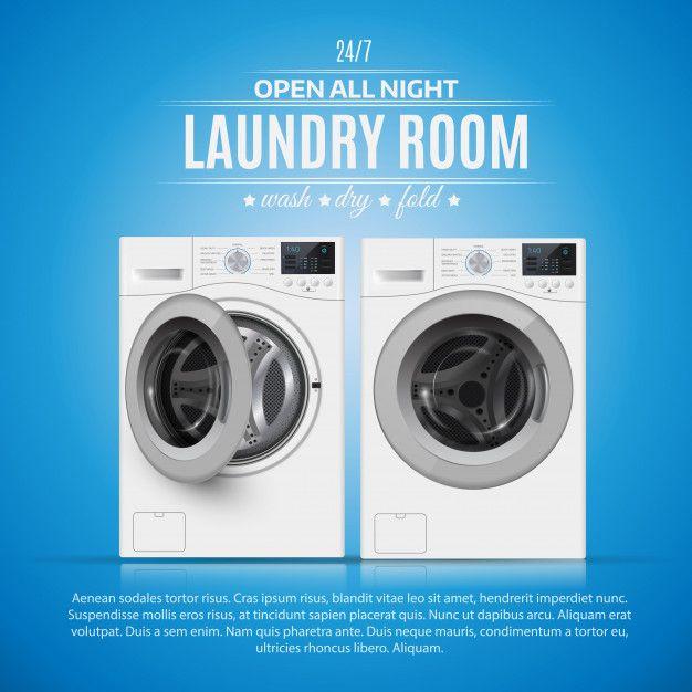 Laundry Room Premium Vector Free Vector Freepik Freevector