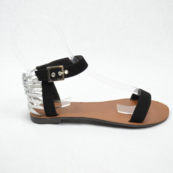 Hot summer black sandals/flats, wear them day or night! Now only $38 (were $48). www.heelheaven.com.au All shoes on sale!