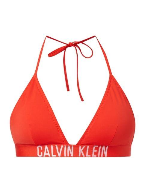 Bikini-Oberteil in Triangel-Form Rot - 1