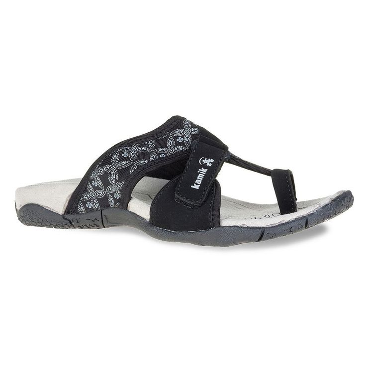 Kamik Mustique Women's Sport Sandals, Size: 7, Black
