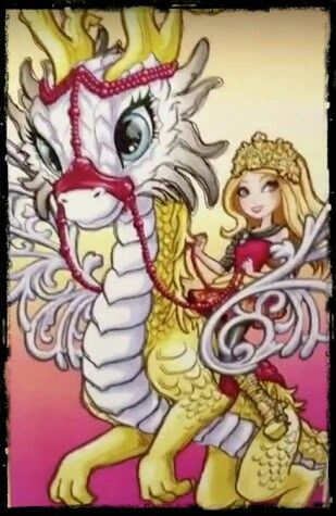 Ever After High Apple White Dragon Games