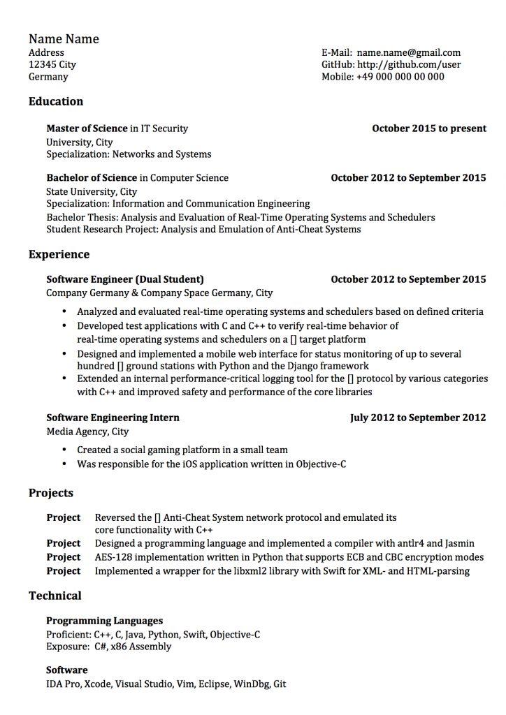 Resume Format Reddit 2021 Resume Format New Resume Format Best Resume Format